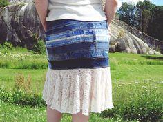 Vyötärökaitaleista hame - VillaNanna - DIY - Tie Dye Skirt, Lace Skirt, Lifestyle, Skirts, Diy, Fashion, Moda, Bricolage, Skirt
