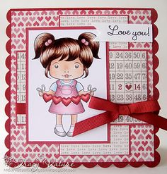 Sweetheart Marci by Lala Land Crafts - Tvalure
