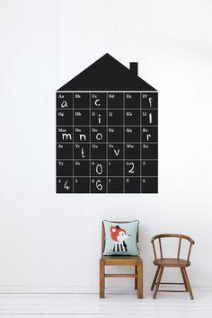 ABC House Kid's Wallsticker design by Ferm Living