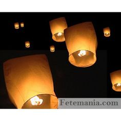 Lanterne papier volante