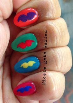 Mustache+Pop+Art+Nails.JPG 1,037×1,449 pixels
