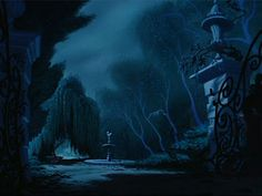 Animation Backgrounds: CINDERELLA