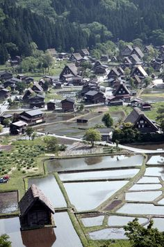 Traditional farmhouse, Shirakawago, Japan,the World Heritage