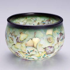 Glass Vessel, Glass Art, Japanese Tea House, 3d Painting, Japan Art, Pretty Art, Vase, Glass Design, Chinese Art