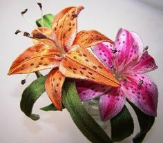Gorgeous embroidery - sz Embroidery: Stargazer Lily