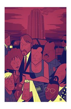 Cool Art: Hero Complex Gallery presents 'Young Guns Of Print'. Art by Ale Giorgini