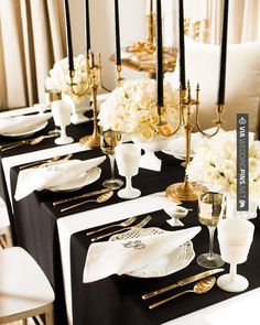 So elegant | CHECK OUT MORE GREAT BLACK AND WHITE WEDDING IDEAS AT WEDDINGPINS.NET