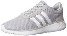 Adidas NEO Women's Lite Racer Running Shoe,Clear Onix/Running White/Running White,11 M US adidas http://www.amazon.com/dp/B00OJE2M2W/ref=cm_sw_r_pi_dp_HuCEwb0BENGHP
