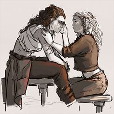 Clexa by Samanthadoodle