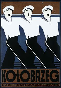 Kolobrzeg Check also other posters from PLAKAT-POLSKA series Original Polish poster designer: Ryszard Kaja year: 2013 size: Art Deco Posters, Poster Prints, Retro Posters, Polish Posters, Kunst Poster, Pop Art, Art Deco Design, Vintage Travel Posters, Illustrations And Posters