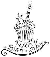 Happy Birthday Schwarz Weiss Google Suche With Images Kartki