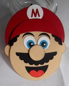 Mario's Head by DiHere - Cards and Paper Crafts at Splitcoaststampers