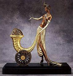 """""""Cornucopia"""" (Bronze)   by   Erte"""