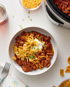 How To Cook Simple & Tasty Slow Cooker Chili — Cooking Lessons from The Kitchn