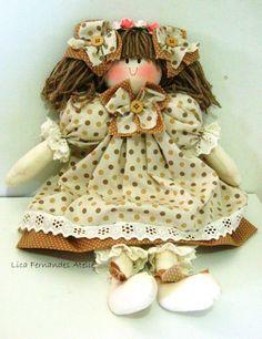 Boneca De Pano.  #licafernandesatelie