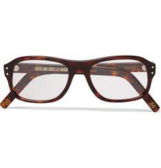 Kingsman + Cutler and Gross Square-Frame Tortoiseshell Acetate Optical  Glasses Kingsman Glasses, Optical e34b36f315a8