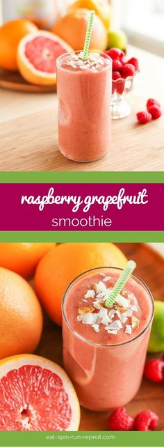 This Raspberry Grapefruit Smoothie is a perfect way to start any day. High in vegan protein, creamy, and full of antioxidants, it'll give you plenty of energy to tackle your to-do list.