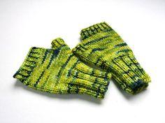 Unique Fingerless Gloves for Toddler 2T 3T Green von frostpfoetchen
