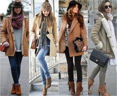 Resultado de imagem para looks de inverno