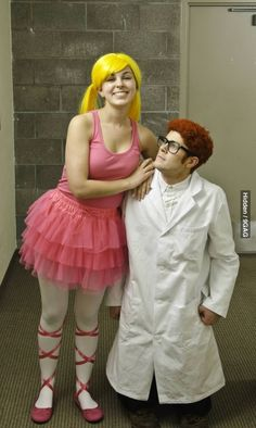 I forgot about this show! Awesome Dexters Lab Costume #dexter