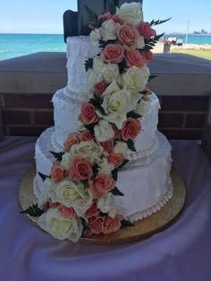 Calumet Bakery Wedding Cake #78