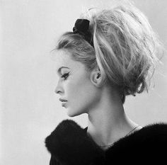 The inspiration: Brigitte Bardot's messy bouffant. | 7 Hairstyles Of The '60s You'd Totally Wear Today