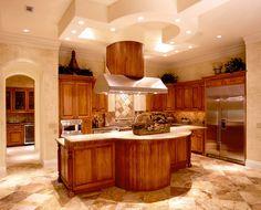 Custom home kitchen - Austin, TX
