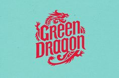 Boxer & Co. | Packaging & Branding Design | Green Dragon Packaging Dragon Boat, Green Dragon, Black Dragon, Logo Branding, Branding Design, Logo Design, Dragon Images, Letter I, Best Black