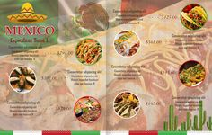 #espaciohonduras Diseños de menús Para restaurantes de comida mexicana para mas…
