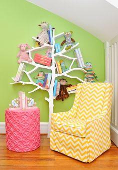 Love this - Fun Tree (book) Shelf!