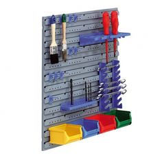 Tablice z tworzywa sztucznego z boksami i uchwytami na narzędzia