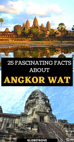 Headed to Cambodia and have this UNESCO site on your list? You will definitely want to know all these facts about Angkor Wat before you visit! Cambodia Travel | Angkor Wat Temple | Angkor Wat sunrise | Angkor Wat sunrise | Angkor Wat Cambodia | Siem Reap | Cambodia History | Angkor Wat Tickets | Angkor Wat history | Angkor Wat Photography | Angkor Wat tips | What to pack for Angkor Wat