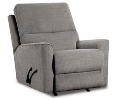 Naples Gray Rocker Recliner Grey Recliner, Grey Loveseat, Chaise Sofa, Recliners, Recliner Chairs, Living Room Sectional, Living Room Furniture, Grey Sectional, Furniture Sets