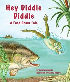 Hey Diddle Diddle: A Food Chain Tale by Pam Kapchinske http://www.amazon.com/dp/1607181304/ref=cm_sw_r_pi_dp_pvGuvb1DNYVD9