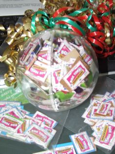 What do I do with all of the expired box tops that are turned in?  Why I make my own christmas ornament!