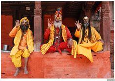Nepal monk photo religion