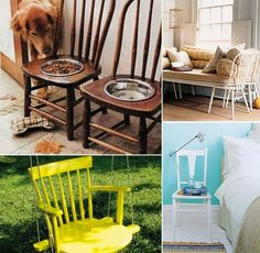 The Most Creative Ideas For Recycling Old Chairs