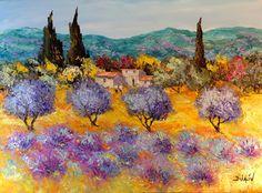 Lavender Work, Painting, Duaiv