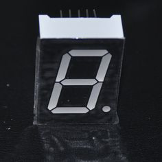 5pcs 7Segments 1inch LED Display CC 1-Bit 4V 1Digital Sign Panel Digit RED LED Displays Tube 7-Segment LED Module Common Cathode
