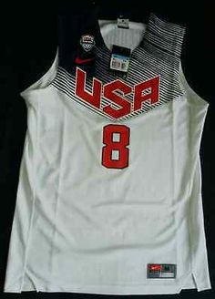 New with tag nike usa #dream team paul george nba #basketball 8 #original officia,  View more on the LINK: http://www.zeppy.io/product/gb/2/142095179038/