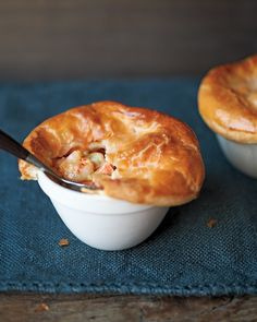 Shrimp and Andouille Potpies - Martha Stewart Recipes