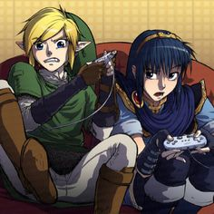 Legend of Zelda..... No, I AM NOT that kind of geek.... I don't play video games..... I don't have any, or else I would!