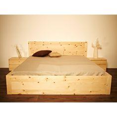 Schlafzimmer Ideen Zirbenholz Schlafzimmer Modern Doppelbett In ... Schlafzimmer Zirbe Modern