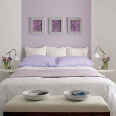 Habitación Lila Http://www.estiloydeco.com/dormitorios Lila/