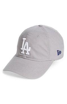 New Era Cap 'Core Shore - Los Angeles Dodgers' Baseball Cap Dodgers Baseball, Baseball Cap, Grey Gloves, New Era Cap, Los Angeles Dodgers, Vintage Inspired, Nordstrom, Hats, Womens Fashion