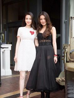 Shu Qi in D&G & Angelababy at Festival de Cannes
