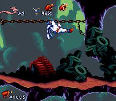 Earthworm Jim - Super Nintendo