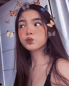 Korean Girl Photo, Cute Korean Girl, Cute Girl Photo, Beautiful Girl Makeup, Beautiful Girl Image, Really Pretty Girl, Pretty Girls, Filipino Girl, Cute Selfie Ideas