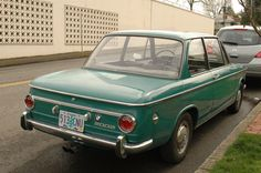 1971 BMW 2002 (awesome color)