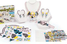Jewelry Fold Paper Jewelry Kits by Paper Punk: Awesome craft gifts for kids